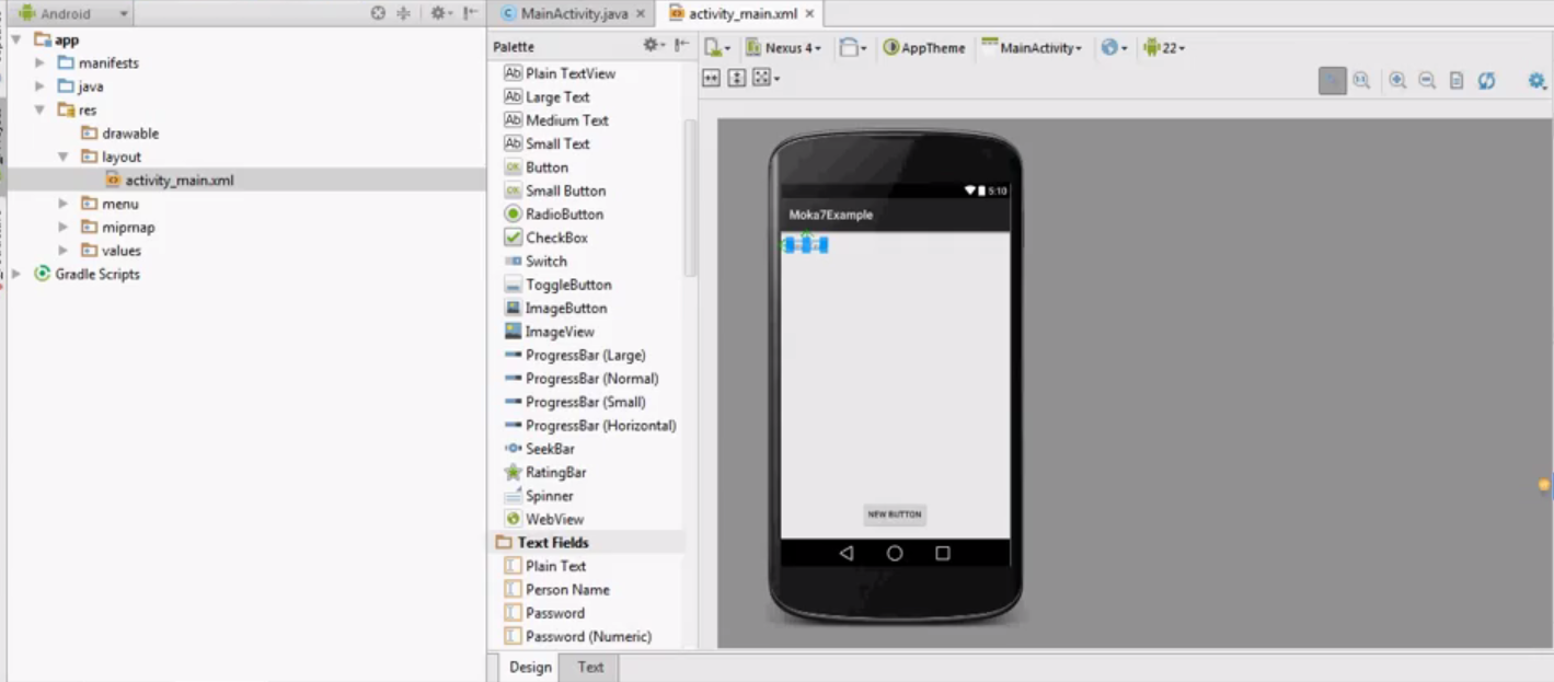 Android and snap7 simple example for communication between